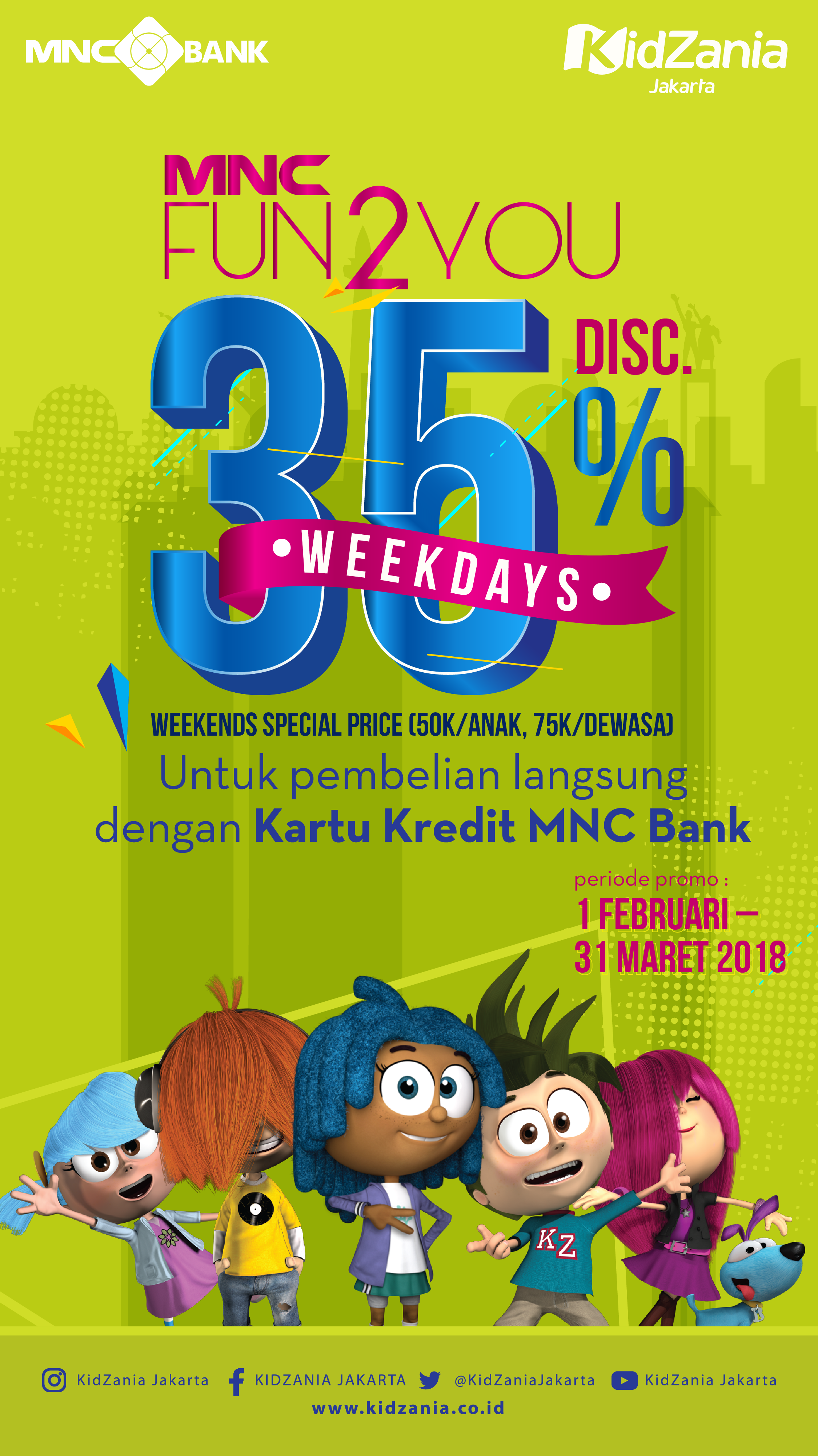 Get 35 Discount From Mnc Bank