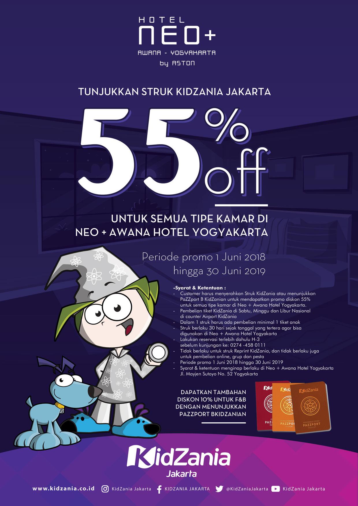 Promo Hotel Neo Awana Tiket Kidzania 3037