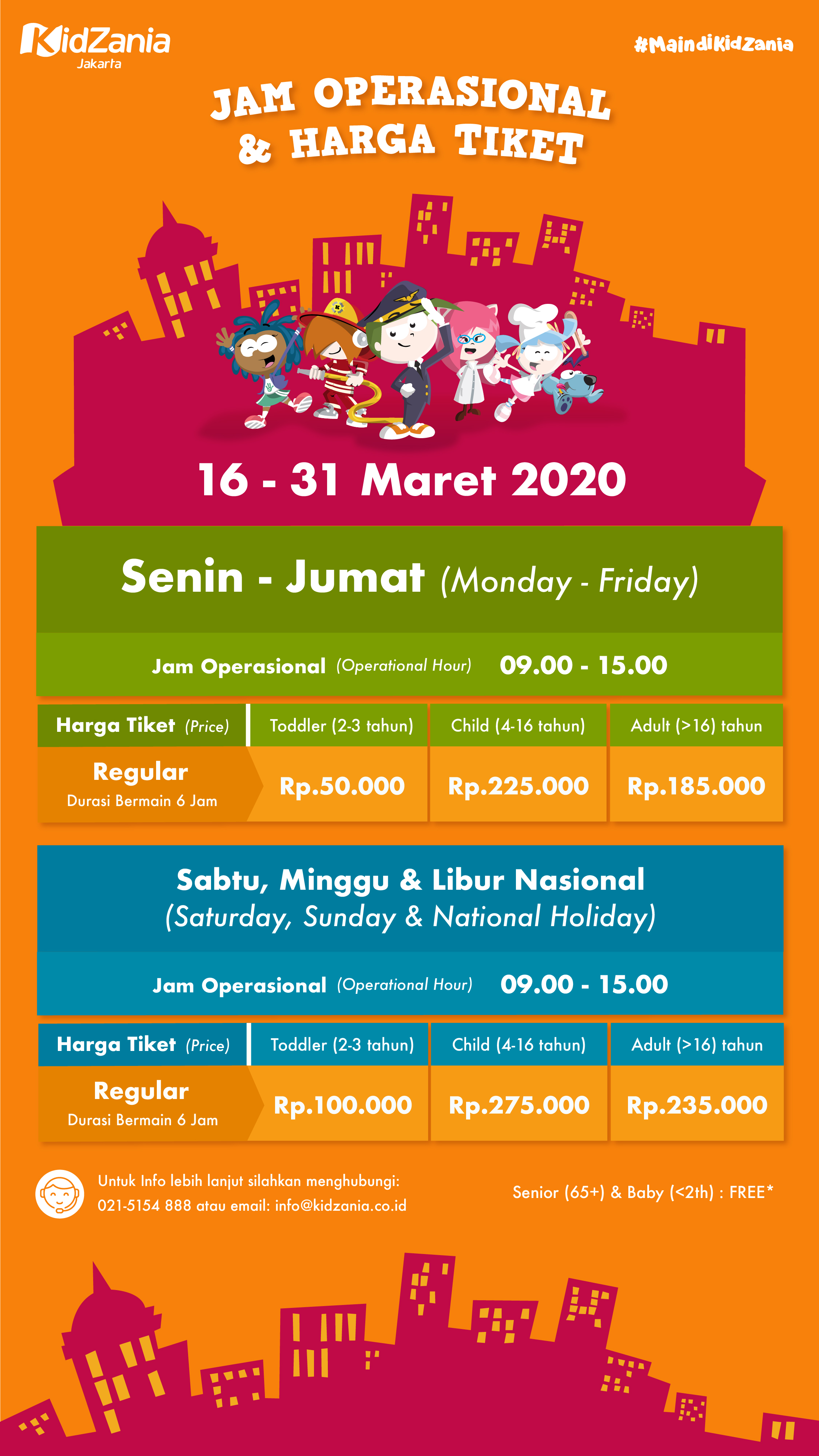 What Is Kidzania The Concept Our Story Kids Activitities Our Economy Security Accessibility Kidzania In The World Kz Journal About Kidzania Jakarta News Our Partners Careers Media Map Plan Your Visit Opening Time Services Ticket Prices How To