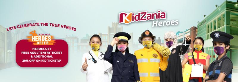 KidZania Heroes offer