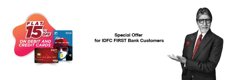 KidZania IDFC First Bank customers offer