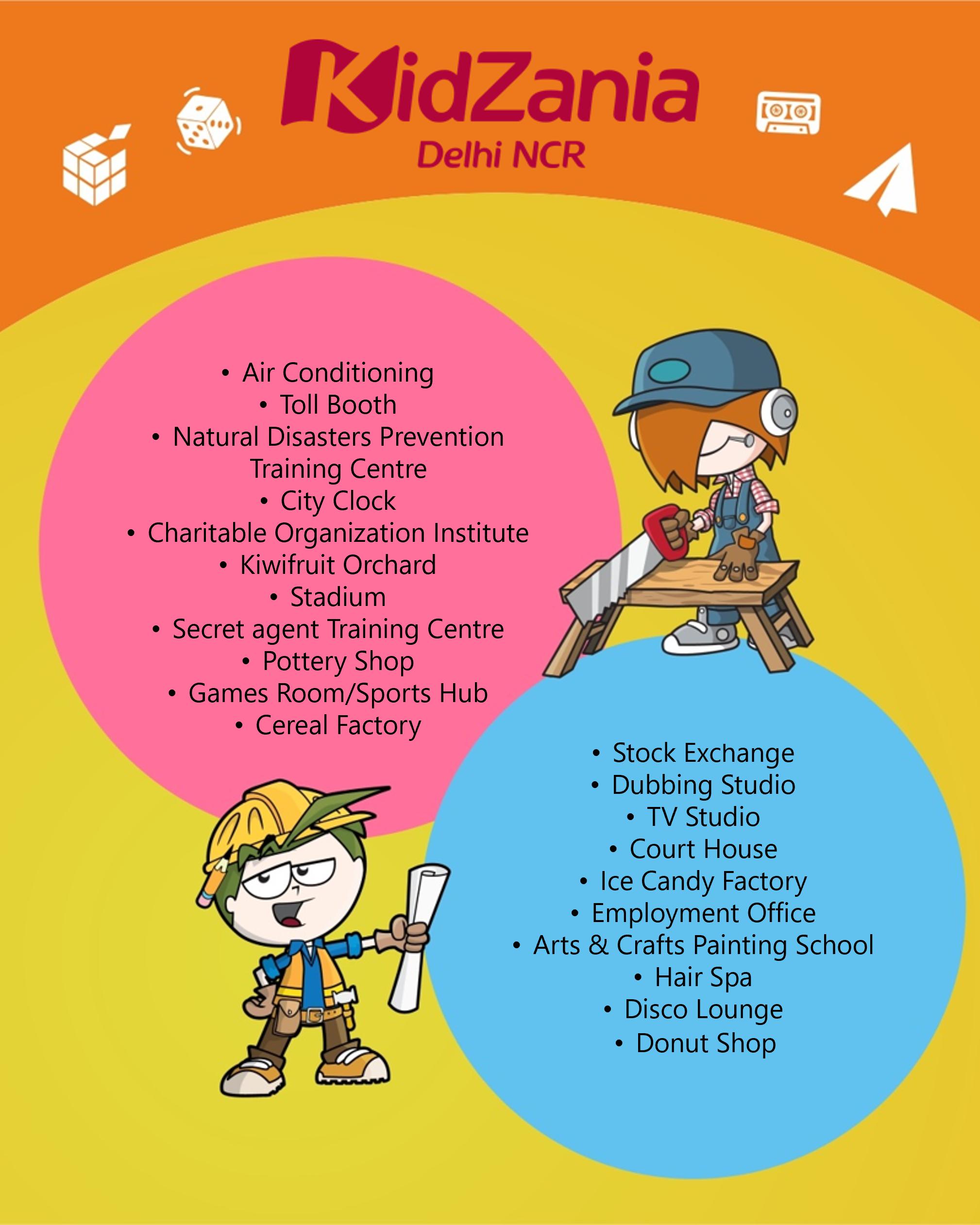 KidZania Delhi NCR temporarily Closed establishments